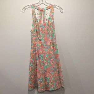 """LILLY PULITZER MultiColor Summer """"Zo Dress"""" Size 4"""